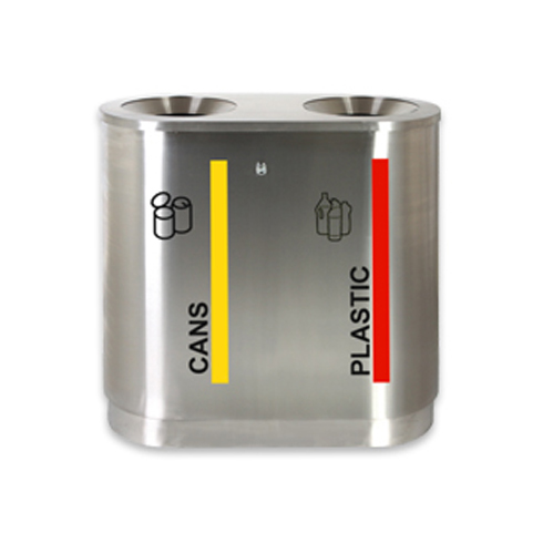 Stainless Steel Recycling Bin