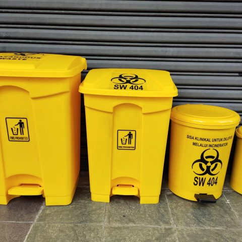 Clinical Pedal Waste Bin