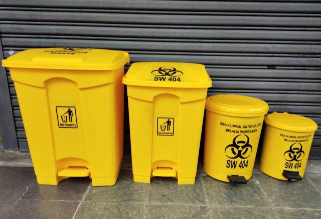 Clinical Pedal Waste Bin